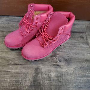 Timberland Boot Girl's Sz 6 Women Sz 7.5 Hot Pink